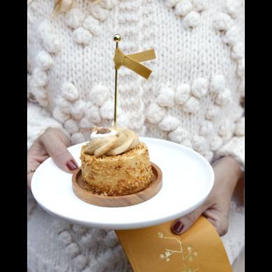 Delight Department Ochre gold tassel