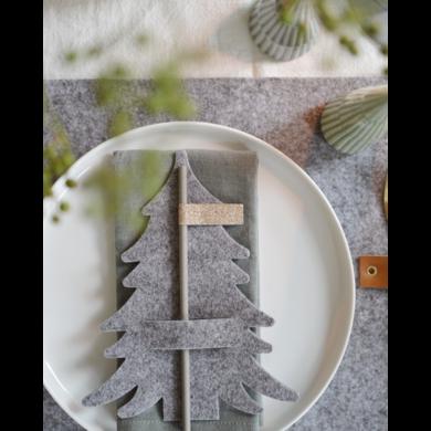Delight Department Napkin Holders Grey 5 stuks