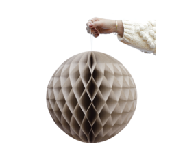 Delight Department Honeycomb balls beige set of 2