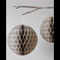 Delight Department Honeycomb balls beige set of 2