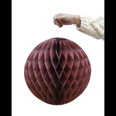 Delight Department Honeycomb balls merlot set van 2