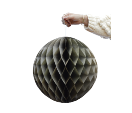 Delight Department Honeycomb balls olive set of 2