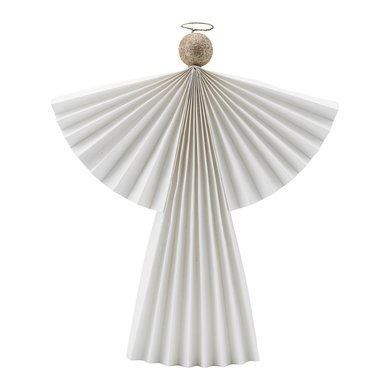 House Doctor Ornament angel wit 36 cm