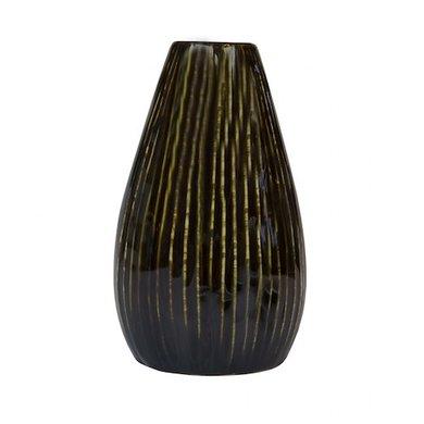 Home Delight Vase line brown