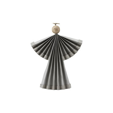 House Doctor Ornament angel grijs 24 cm