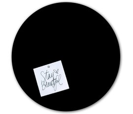 Groovy Magnets Groovy Magnets magneetsticker zwart rond