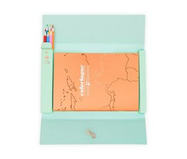 Luckies of Londen Colorlogue travel folder