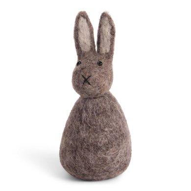 En Gry & Sif Én Gry & Sif handmade gray Easter bunny