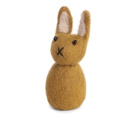 En Gry & Sif And Gry & Sif handmade ocher yellow Easter bunny