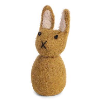 En Gry & Sif Én Gry & Sif handmade ocher yellow Easter bunny