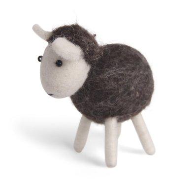 Én Gry & Sif handmade sheep brown