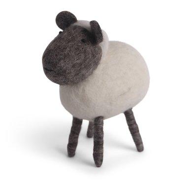 En Gry & Sif Én Gry & Sif handmade white sheep