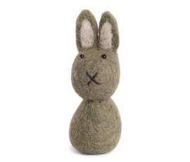 En Gry & Sif Én Gry & Sif handmade green Easter bunny
