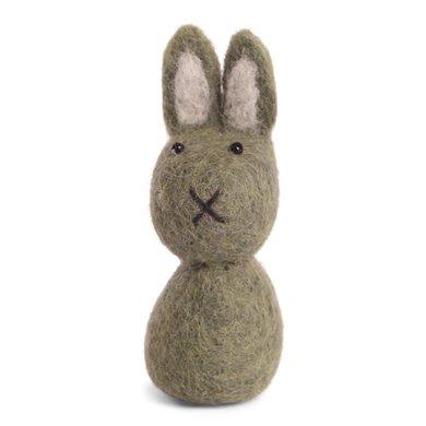 En Gry & Sif Én Gry & Sif handmade green Easter bunny