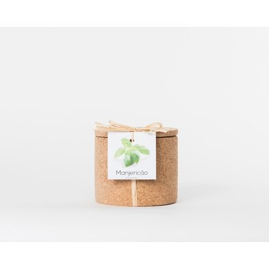 Life in a bag Life in a bag spice pot cork basil