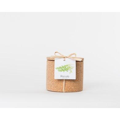 Life in a bag Life in a bag kruidenpot kurk rucola