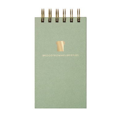 House of products Broodtrommelbriefjes