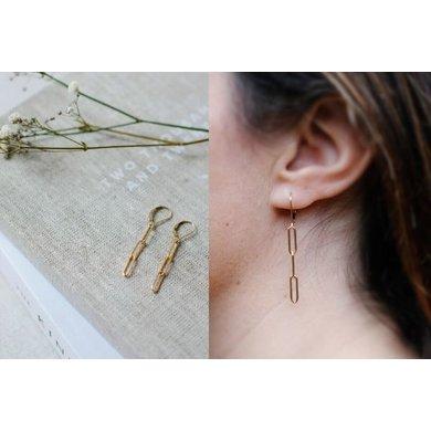 Lisa la pelle Lisa la Pelle earrings moment of joy