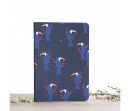 Atelier Bobbie Atelier Bobbie notebook A5 Leopold