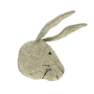 Fiona Walker Fiona Walker felt animal head hare - mini