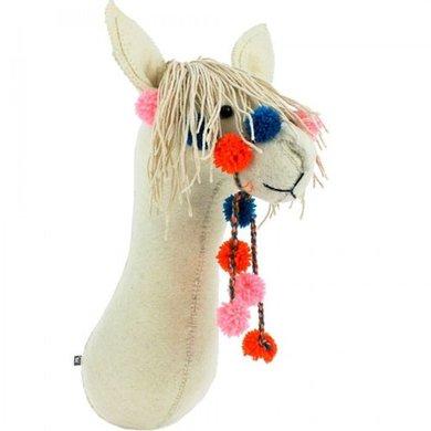 Fiona Walker Fiona Walker felt animal head llama