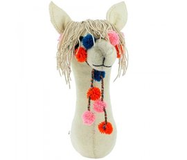 Fiona Walker Fiona Walker felt animal head llama