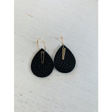 Lisa la pelle Lisa la pelle earrings spiky little love black