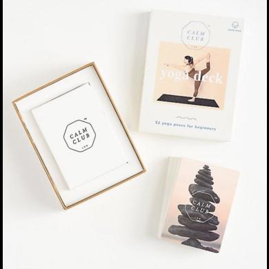 Calm Club Calm club yoga cards