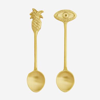 Madam Stoltz Madam Stoltz spoon gold ornament