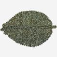 Madam Stoltz Madam Stoltz placemat seagrass green
