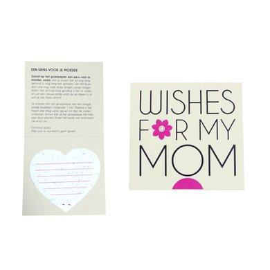 Pluk de dag Pluk de dag moederdag kaartje