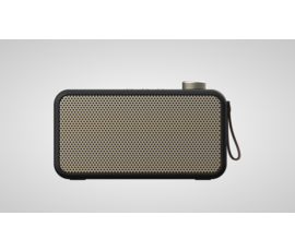 Kreafunk Kreafunk aTune DAB radio zwart + bluetooth speaker