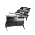 Gusta Gusta Barbecue en roker 2-in-1 rood