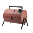 Gusta Gusta Barbecue and smoker 2-in-1 red