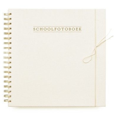 House of products HOP school fotoboek ivory