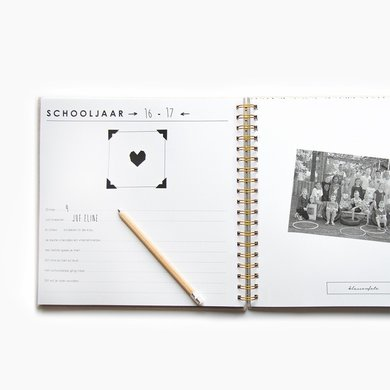 House of products HOP school photo book ivory