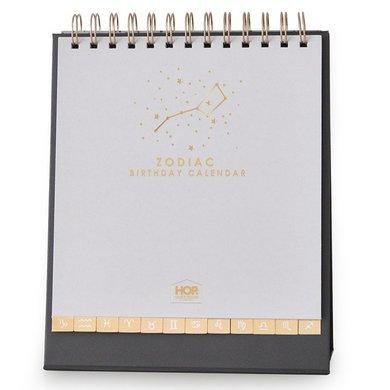 House of products HOP verjaardagskalender sterrenbeeld met goudfolie