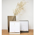 House of products HOP birthday calendar zodiac sign with gold foil