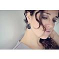 Lisa la pelle Lisa la Pelle earrings spiky little love gold