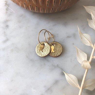 Lisa la pelle Lisa la Pelle earrings happy mini eye
