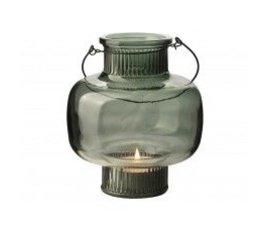 Gusta Gusta glass lantern green