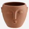 Madam Stoltz Madam Stoltz flower pot with terracotta face