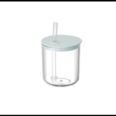 Kinto Kinto Bonbo cup with straw gray / blue