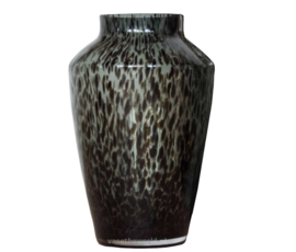 Vase the World Vase the world Hudson grey cheetah 22,5 x H35 cm