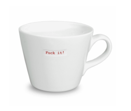Keith Brymer Jones Bucket mug fuck it