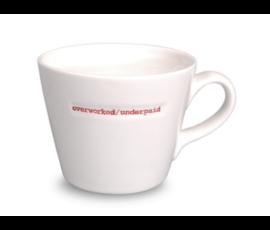 Keith Brymer Jones Bucket mug overworked / underpaid