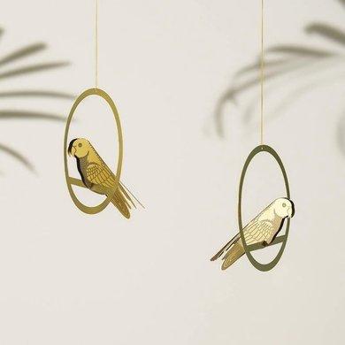 Another Studio Brass Bird Decoration