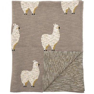 Bloomingville Bloomingville blanket llama