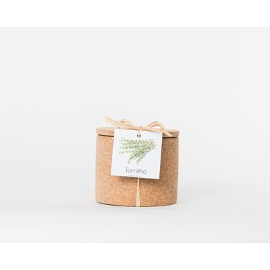 Life in a bag Life in a bag spice jar cork thyme