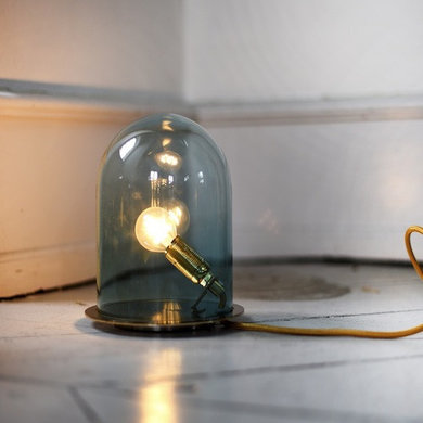 Ebb & Flow Glow in a dome grey 23 cm